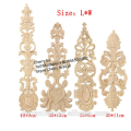 decorative hand carved wood onlays appliques carving for furniture
