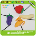 3D Stationery Gift Eraser in vruchtvorm