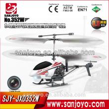 352W 3.5CH Wifi RC Helicóptero con cámara y transmisión en tiempo real Video rc flying toys drone helicóptero con cámara