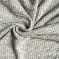 Vertical stripe  jacquard knitting fabric