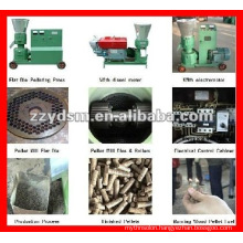 Stable, durable flat die feed pellet press machine with 2-8mm