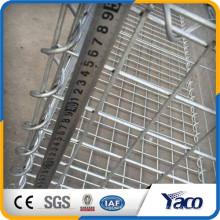 Anping usine 4mm 5mm 6mm galvanisé soudé gabion panier Pierre cage net