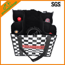 fashion Non Woven Wine bottle Bag For Promotion