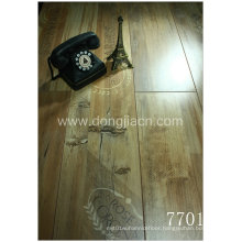 Flower and Letter Printed Laminate Flooring 7701