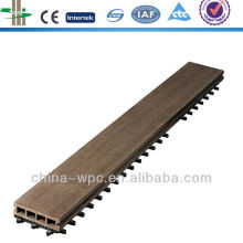 home use wpc interlocking flooring tiles