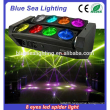 8*12w rgbw beam moving head led spider light