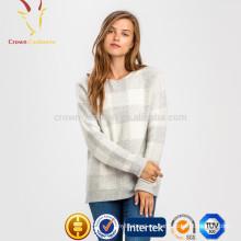 Nuevos suéteres de cachemira del diseño para el jersey de la cachemira de las mujeres