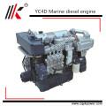 Moteur diesel marin de type humide de 85kw 100hp avec le moteur diesel marin chinois de boîte de vitesse 100hp sur le bateau avec le certificat de BV à vendre