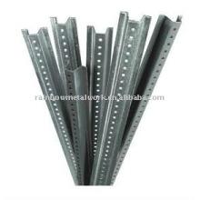 U Channel Post Galvanized Steel 2 lb