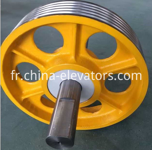 Elevator Cast Iron Pulley