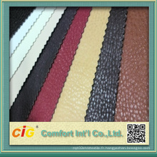Stock PU Leather Ar107 pour Sofa