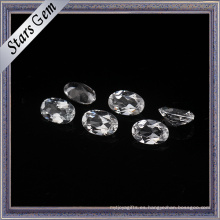 7X9mm Crystal Clear Good Quality Natural Topaz Gemstone