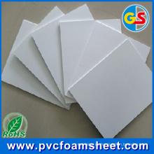 Fábrica de hojas de espuma de PVC (blanco puro)