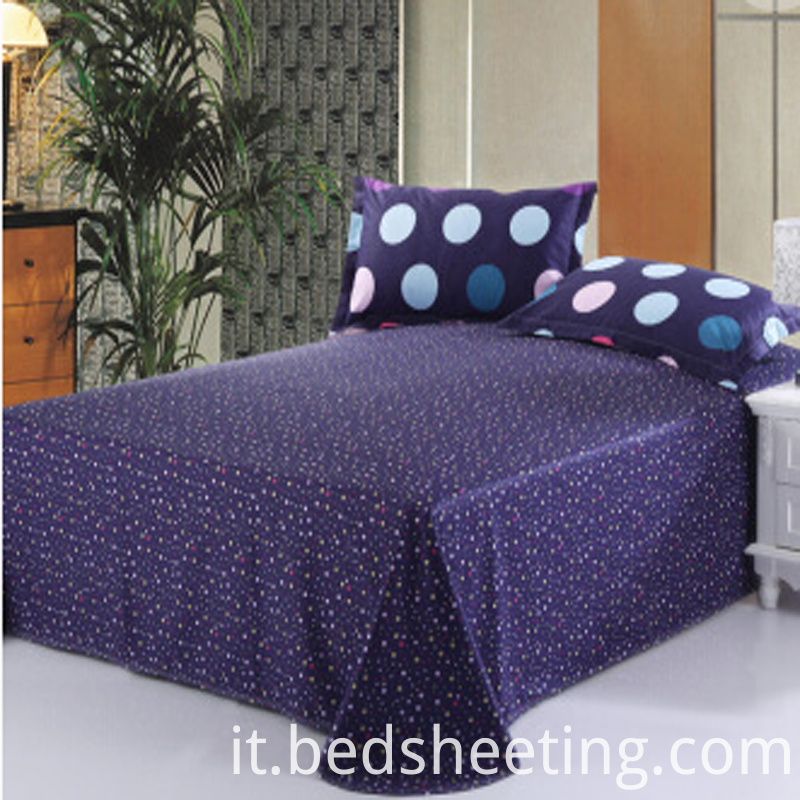 Cotton Percale Printed Sheet