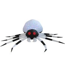 Aranha inflável de Halloween para decoração