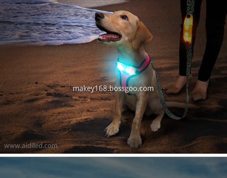Soft Mesh Led Dog Vest