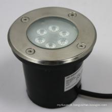 A iluminação exterior IP67 7w recessed a luz ereta conduzida do inground em 12V 60degree