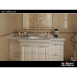 American Classic Bathroom Cabinet Design