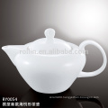 700ml Hotel and restaurant used elegant new design peach shaped ceramic tea pot wholesale