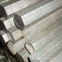 Fabrication de fournisseurs en or Barre hexagonale en acier inoxydable