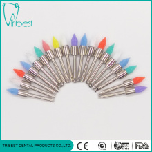 Disposable Dental Use Colorful Nylon Pencil-flat Brush
