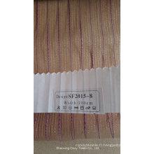 Tissu à rideaux transparents Organza Free Fashion Stripe 201508