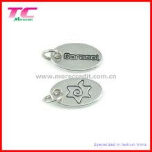 Etiqueta de encargo de la joyería del metal (TC-TAG665)