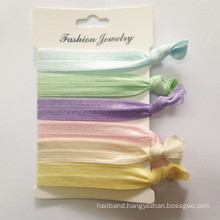 Stocks Elastic Hairband Foe Ponytail Holder (HEAD-321)