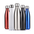 Black Color Sports Wedding Vacuum Insulated Stainless Steel Water Bottle