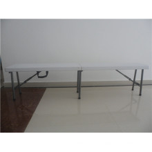 Banco de fixação portátil Palstic 6FT combinado com tabelas para uso em atividades ao ar livre