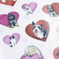 Собака принцесса серии стикер записки пузырь наклейки награда детские игрушки наклейки
