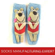 Chaussettes pour femmes en résine 3D avec sol antidérapant (UB-116)