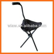 folding stool walking stick