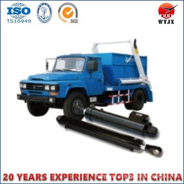 Cilindro Hidráulico para Veículos de Saneamento / Caminhão de Lixo