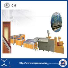 Línea de máquina de extrusión de tubos de plástico