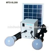 12V 5W small lighting kit 5w solar cell