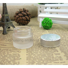 Mini 5g 10g 15g 20g All Size Round Frosted Cosmetic Cream Glass Jar