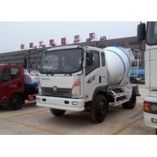 O Caminhão Betoneira Sinotruck 4cbm 4X2