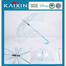 Paraguas de lluvia abierta promocional de calidad superior