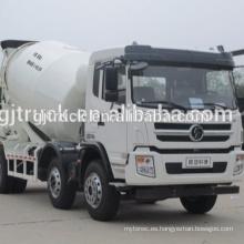 10 ruedas conducen M3000 Shacman camión hormigonera / mezcladora de cemento / usado camión mezclador / mezcla camión / mezclador de la bomba