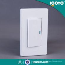 American Style A511 1gang interrupteur électrique à bouton-poussoir mur