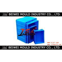 Inyección Plástico Turnover Crate Mold