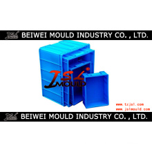 Injection Plastic Turnover Crate Mold