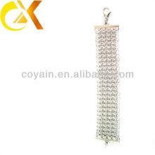 Moda acessórios menina pulseiras jóias de aço inoxidável