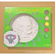 Malendes Farbenspielzeug, scherzt DIY Stein