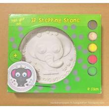 Peinture coloriage jouet, enfants bricolage pierre
