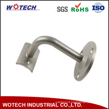 Lost Wax Casting Metal Handrail Bracket for Industrial