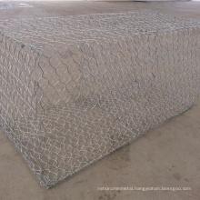 Direct Factory 8x10cm price gabion cage stone basket/ Zinc coated gabion box wire mesh
