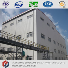High Rise Prefabricated Steel Structure Plant Building