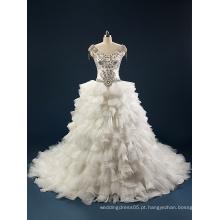 Vestido de casamento novo e novo, vestido de noiva, vestido de noiva DAV041